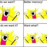 Kaj v resnici hočemo? Pojma nimamo!